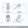 Ingenico IWL250 Houder tailwind specs