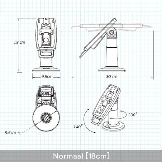 pinautomaat houder standaard verifone p400