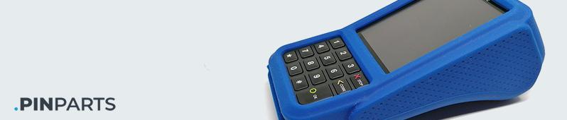 pinautomaat case v400m beschermhoes blauw