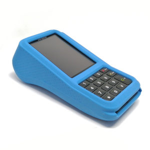 verifone v400m beschermhoes case lightblue back