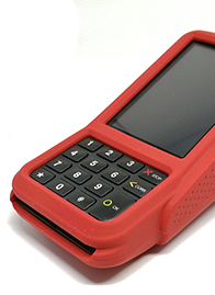 verifone v400m case rood red